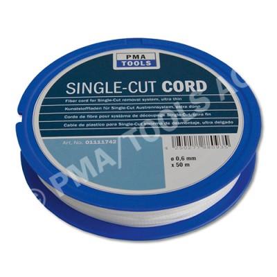 Fiber cord 130 daN for Single-Cut removal system, ultra thin, 50 m