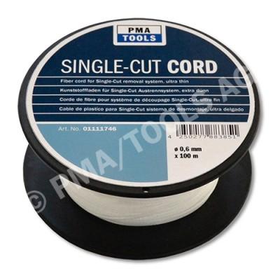 Fiber cord 130 daN for Single-Cut removal system, ultra thin, 100 m