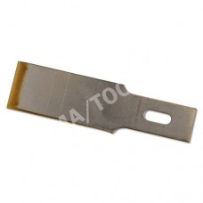 Chisel blades with titanium-coated cutting edge, bicolour, 13 mm, 10 pcs. in the package