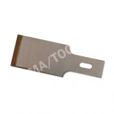 Chisel blades with titanium-coated cutting edge, bicolour, 16 mm, 10 x 10 pcs. in the package