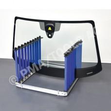 Glass rack 9-slot, foldable