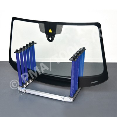 Glass rack 5-slot, foldable