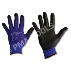 Safety gloves Skin, PU coated, size L