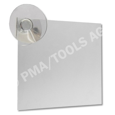 Inspection mirror for stone chip repair