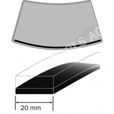 MINI F56, 14-, Expanding foam rubber, 1,50 m, 20 mm (2474ASDHB)