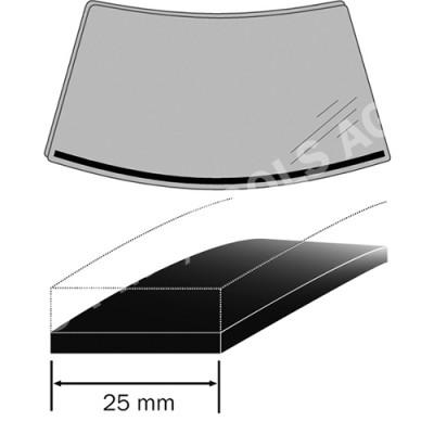 BMW 5 Series F10/F11, 10-17, Expanding foam rubber, 1,56 m, 25 mm (2459ASDSB)