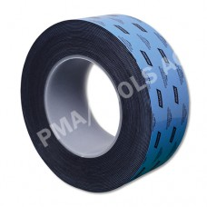 Double-sided urethane adhesive tape, black, 50 mm, 10 m roll