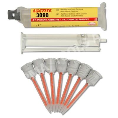 LOCTITE 3090 Adhesive kit with mixer jets, 9 pcs.
