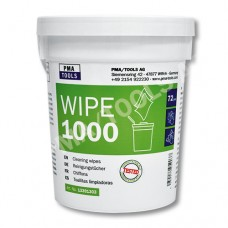 Wipe1000 Cleaning wipes, 6 x 72 pcs. in dispenser