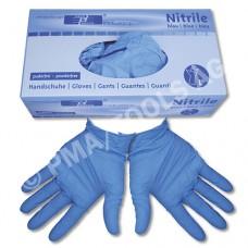 Nitrile disposable gloves, powder-free, size L, 100 pcs.