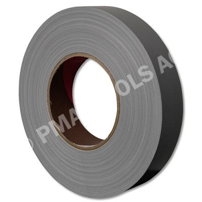 Fabric adhesive tape, silver, 30 mm, 50 m roll