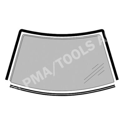 CITROEN C5, 01-08, WS-Moulding set, 2 pcs. (2727AKMH)