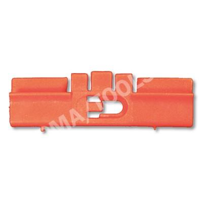 HONDA Civic 5dr, 95-01, WS-Clip pinchweld A-pillar, red