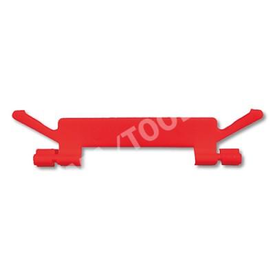 HONDA Civic 5dr, 95-01, WS-Clip moulding A-pillar, red