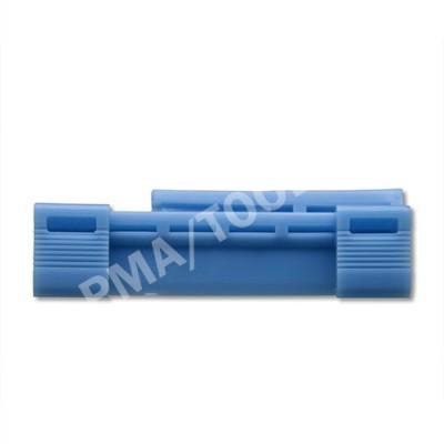 HONDA Civic 3dr, 01-05, WS-Clip A-pillar, blue