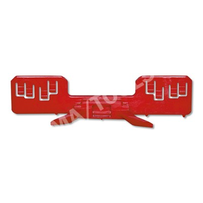 HONDA Accord Sedan/Estate, 03-08, WS-Clip moulding A-pillar, left, red