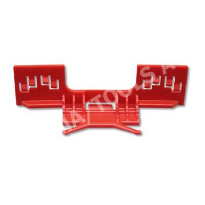 HONDA Civic 5dr, 06-12, WS-Clip moulding A-pillar, red