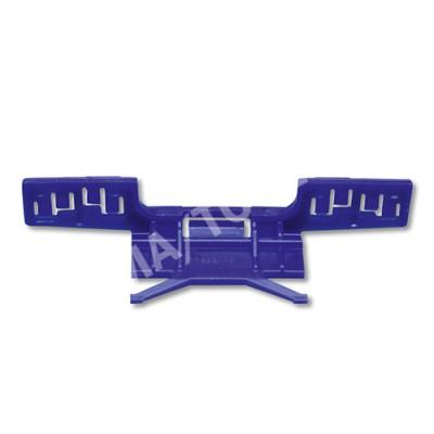 HONDA Civic 5dr, 06-12, WS-Clip moulding A-pillar, blue