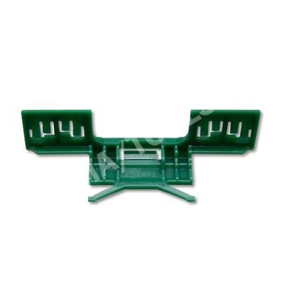 HONDA Civic 5dr, 06-12, WS-Clip moulding A-pillar, green