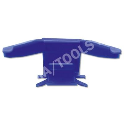 MITSUBISHI Outlander, 03-06, WS-Clip moulding A-pillar, left, blue