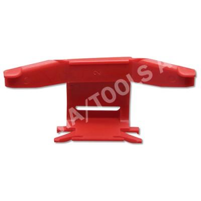 MITSUBISHI Outlander, 03-06, WS-Clip moulding A-pillar, right, red