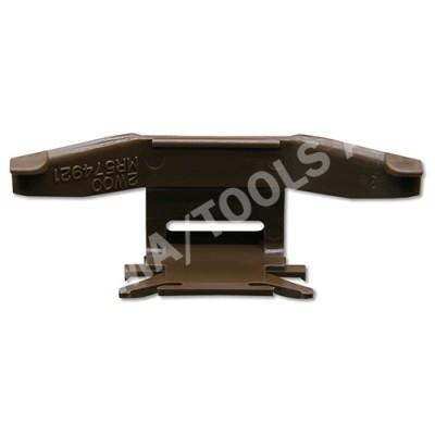 MITSUBISHI Outlander, 03-06, WS-Clip moulding A-pillar, brown