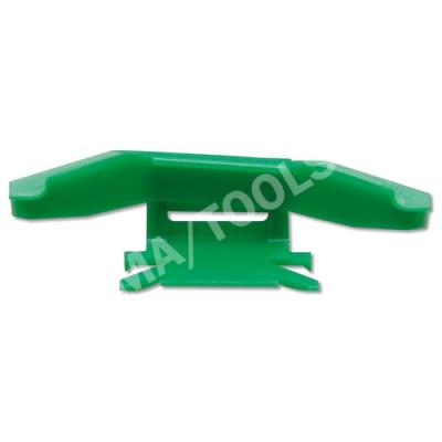 MITSUBISHI Outlander, 03-06, WS-Clip moulding A-pillar, left, green