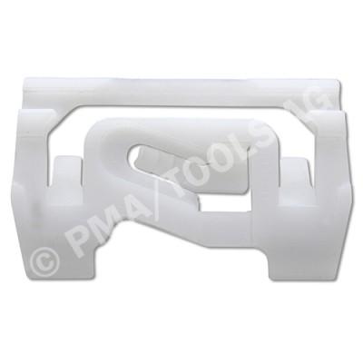 MITSUBISHI Colt VI 3dr, 05-06, WS-Clip pinchweld A-pillar, white