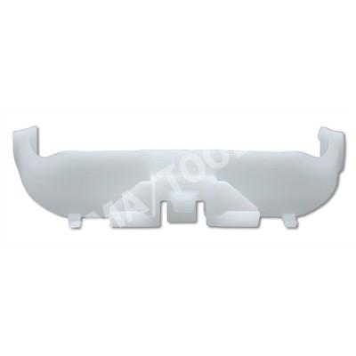 MITSUBISHI Colt VI 3dr, 05-06, WS-Clip moulding A-pillar, white