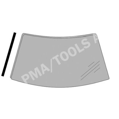 FORD Mondeo, 00-07, WS-Cover trim, left (3559ASMHL)
