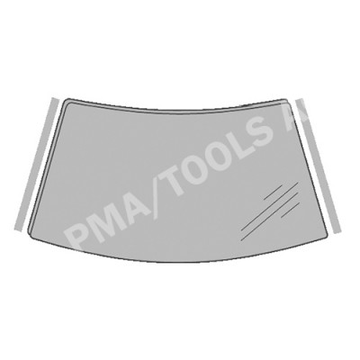 FORD Mondeo, 07-14, WS-Trim set self-adh., left/right, 2 pcs. (3569AKGHS1F)