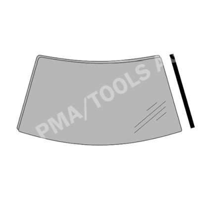 FORD B-Max, 12-17, WS-Cover trim, right outside (3580ASMMR)