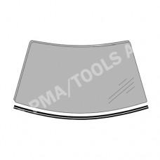 HONDA Civic 4/5dr RHD, 16-, WS-Waterpanel moulding self-adh. (4019ASMHB1H)