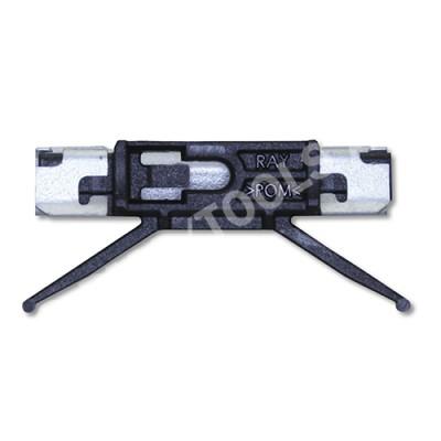 BMW X3 F25, 10-17, WS-Clip pinchweld A-pillar, black/metal
