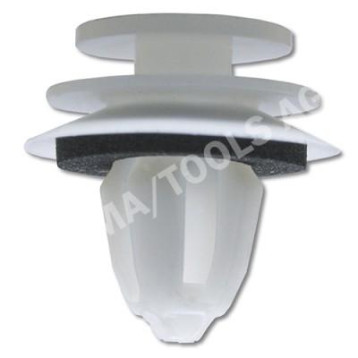MINI R52 Cabrio, 04-08, WS-Clip A-pillar, white