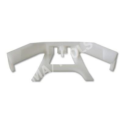 VOLVO S40/V40, 96-04, WS-Clip moulding A-pillar, white