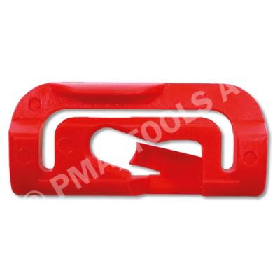 VOLVO S40/V40, 96-04, WS-Clip pinchweld A-pillar, red