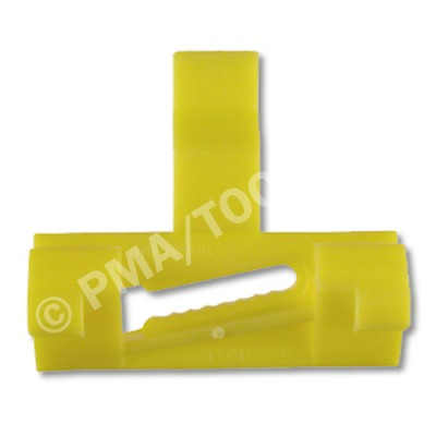 VOLVO S60/V70/XC70, 00-07, WS-Clip A-pillar, yellow