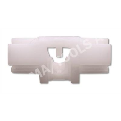 VOLVO S60/V70/XC70, 00-07, WS-Clip A-pillar, white