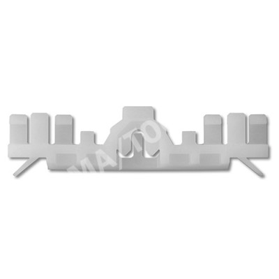 VOLVO S90/V90, 16-, WS-Clip A-pillar, white