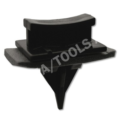 FORD Transit, 00-06, WS-Clip A-pillar, black