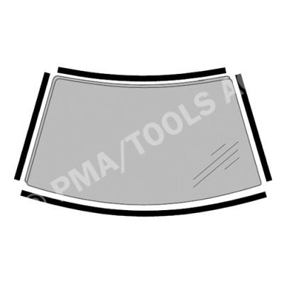 OPEL Corsa C, 00-06, WS-Trim set, 4 pcs. (6290AKMH1F)