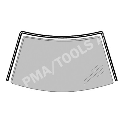 PORSCHE 911 (996), 97-06, WS-Moulding (4,46 mm), inside (6721ASGT)