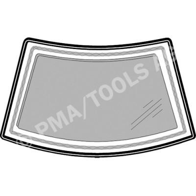 RENAULT 5 C40/B40 Super 5, 84-96, WS-Moulding incl. edge trim, inside, 2 pcs. (7227A)