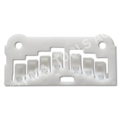 FORD Transit Connect, 03-13, Spacer, white