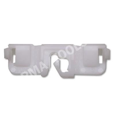 PEUGEOT 407 Sedan/Estate, 04-10, WS-Clip A-pillar, white