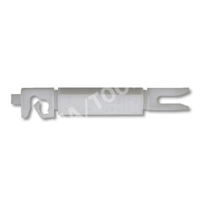 PEUGEOT 308, 07-13, WS-Clip A-pillar, white