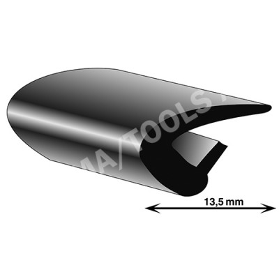 Universal profile, inside, 13,5 mm, 50 m