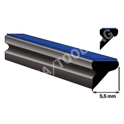 Underglass profile self-adh., 5,5 mm, 100 m (5015)