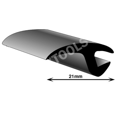 Universal profile, 21 mm, 25 m
